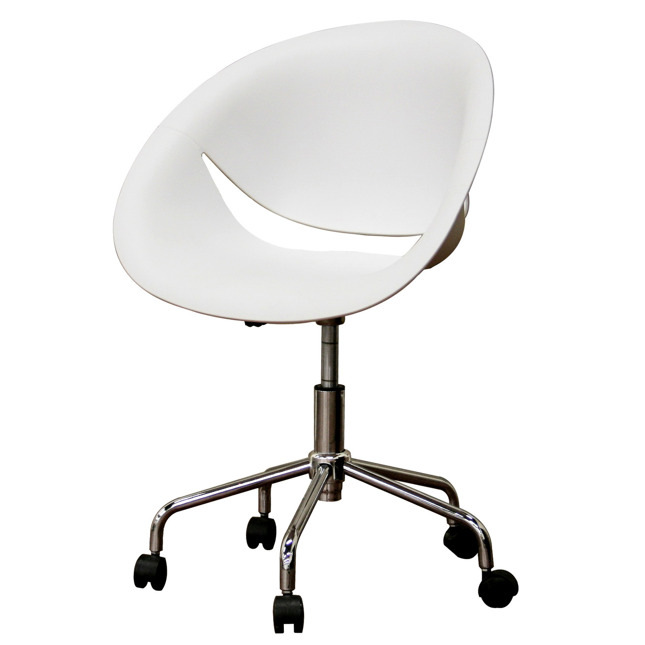 Plastic Swivel Office Chair In Modern Chairs