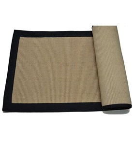 Jute Rug with Black Border by Imports Decor Image