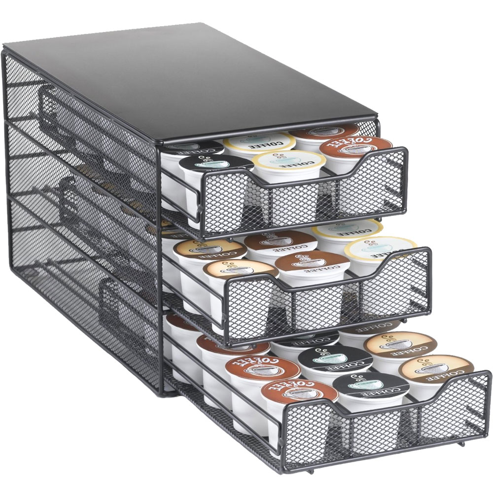 K-Cup Storage Drawer - Holds 54 in Tea and Coffee Storage