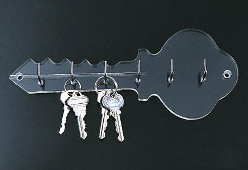 Acrylic Key Rack In Key Organizers