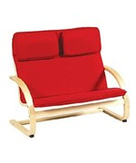 Kiddie Couch - Rubberwood Frame by Guidecraft