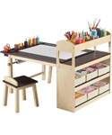 Kids Activity Table with Storage