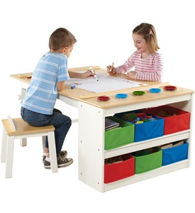 Kids Arts and Crafts Table Image