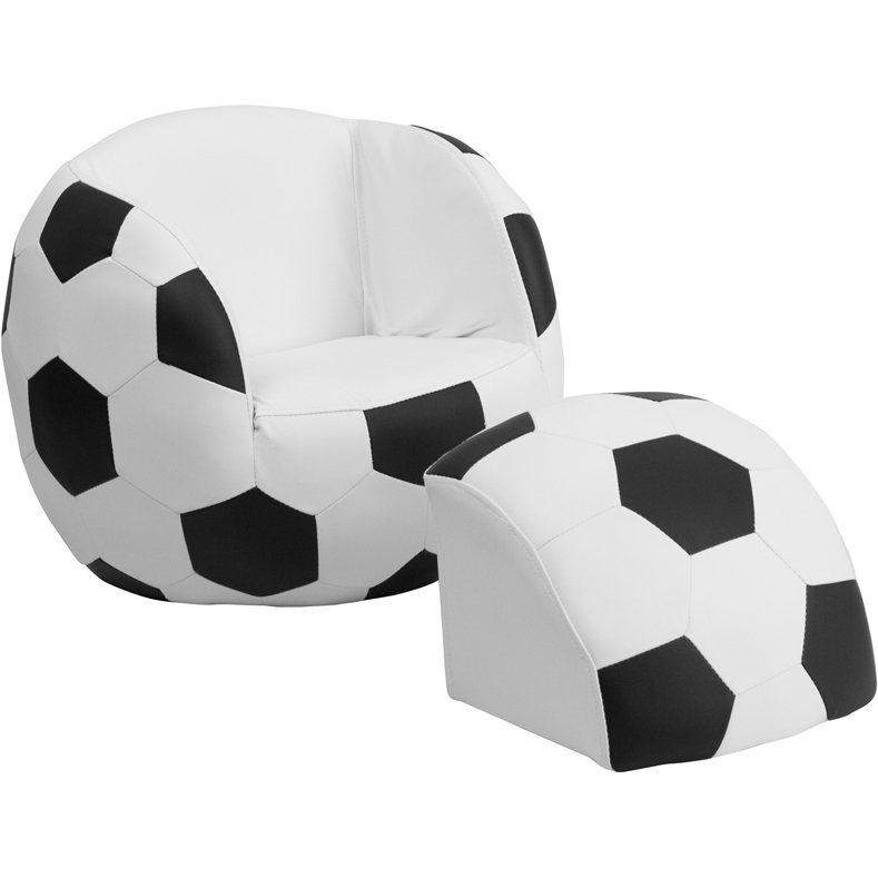 Kids Comfy Chair   Sports Image