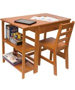 Kids Desk and Bookcase