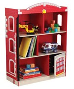 Kids Fire Station Bookcase
