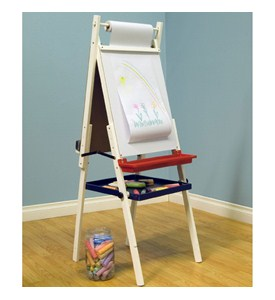 Childrens Easel and Chalkboard Image