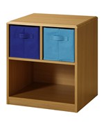 Kids Nightstand with Baskets by 4D Concepts