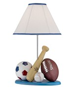 Kids Sports Lamp by Lite Source
