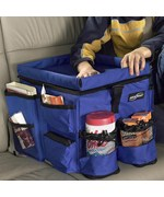 car organizer kids backseat auto organizer blue