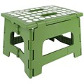 Kikkerland EasyFold Green Step Stool - 8.5 Inches