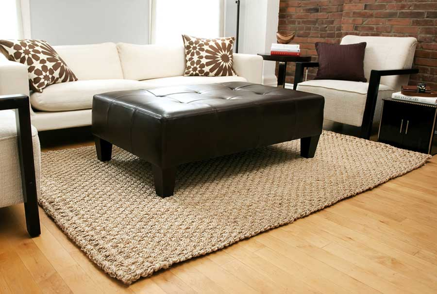 Kilimanjaro Hand Braided Jute Area Rug By Anji Mountain Image