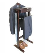 Kingston Wardrobe Valet with Suit Hanger