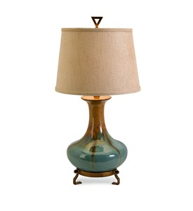 Kirkly Ceramic Table Lamp by IMAX Image