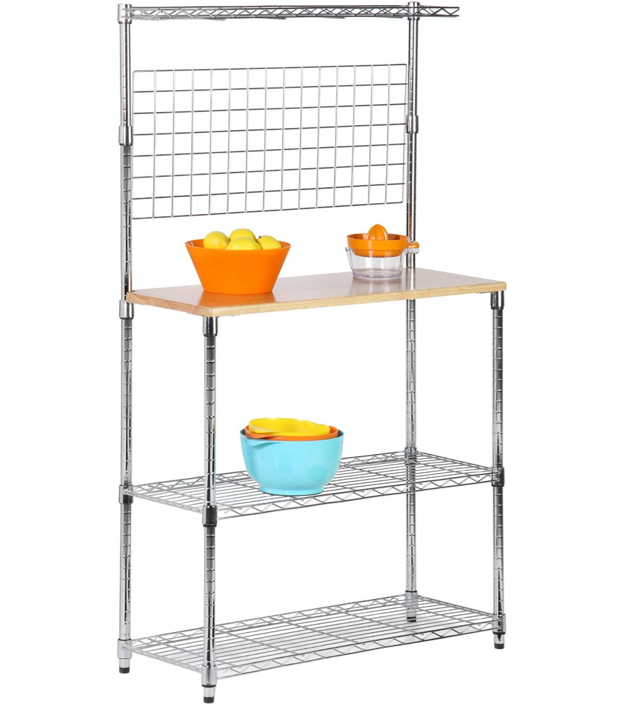 Kitchen Bakers Rack In Kitchen Island Carts