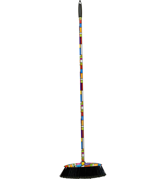 Kitchen Broom   Color Block Image