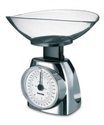 Kitchen Food Scale - Chrome
