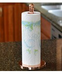 Kitchen Paper Towel Holder - Copper