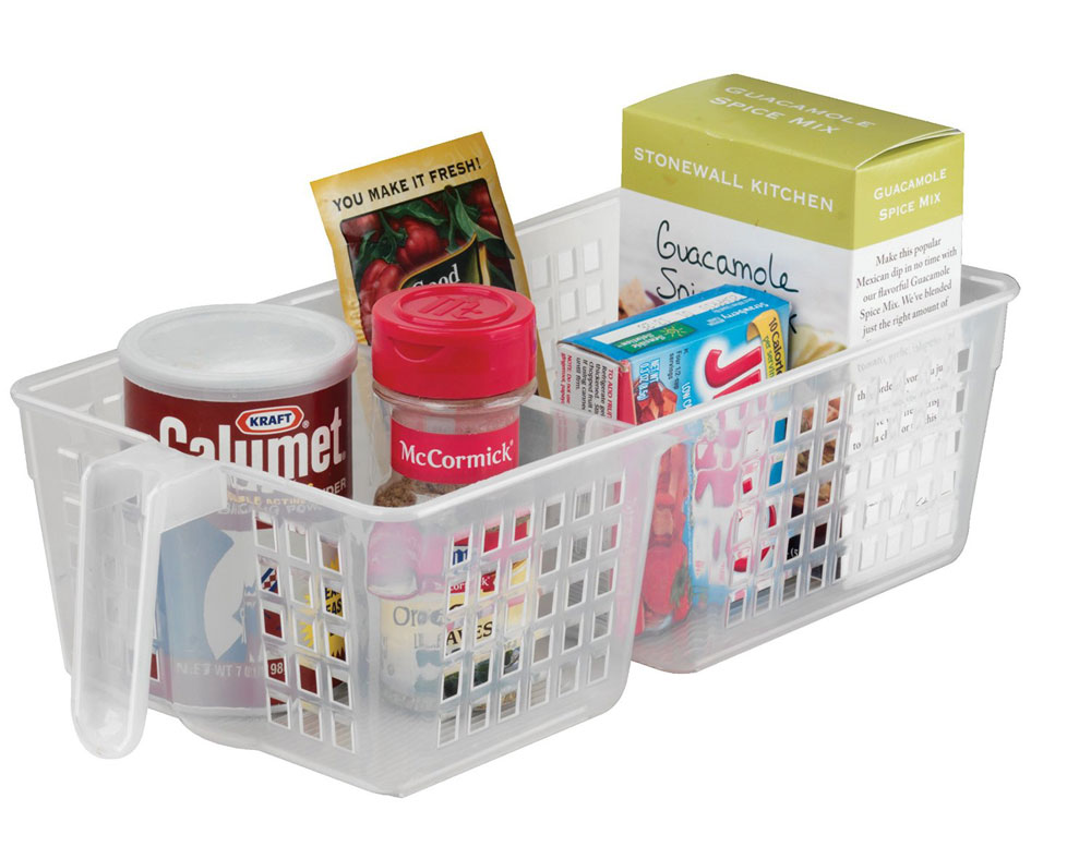 kitchen storage basket divided - Kitchen Storage Containers