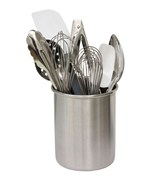 Kitchen Utensil Holder - Stainless Steel