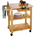 Kitchen Utility Cart - Beechwood