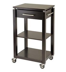 Linea Entertainment Cart - Espresso Image