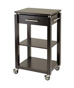 Linea Entertainment Cart - Espresso
