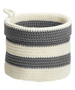 Knit Basket - Striped