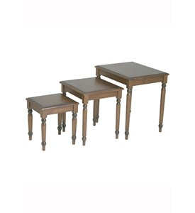 Knob Hill 3 Piece Nesting Table by Office Star Image