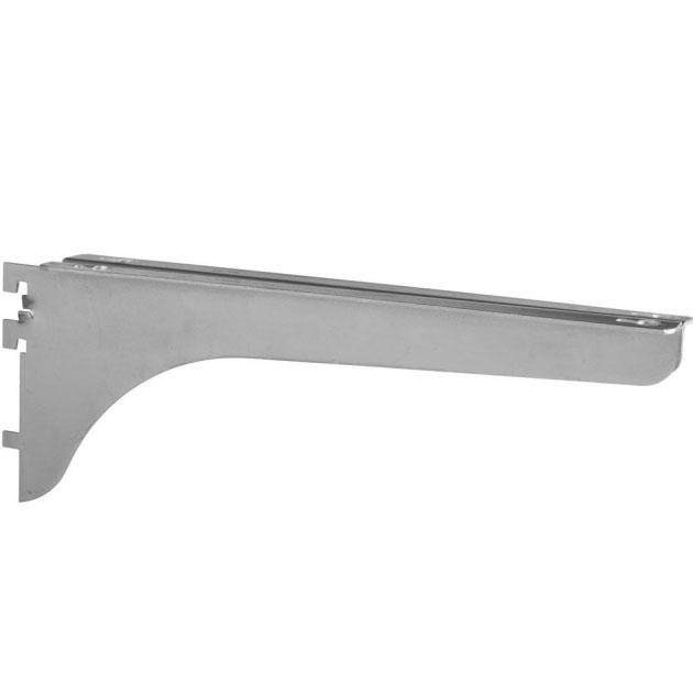 kv shelf support bracket right flange in shelf brackets. Black Bedroom Furniture Sets. Home Design Ideas