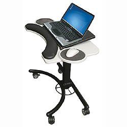 Lapmatic Adjustable Laptop Stand In Computer And Laptop Carts