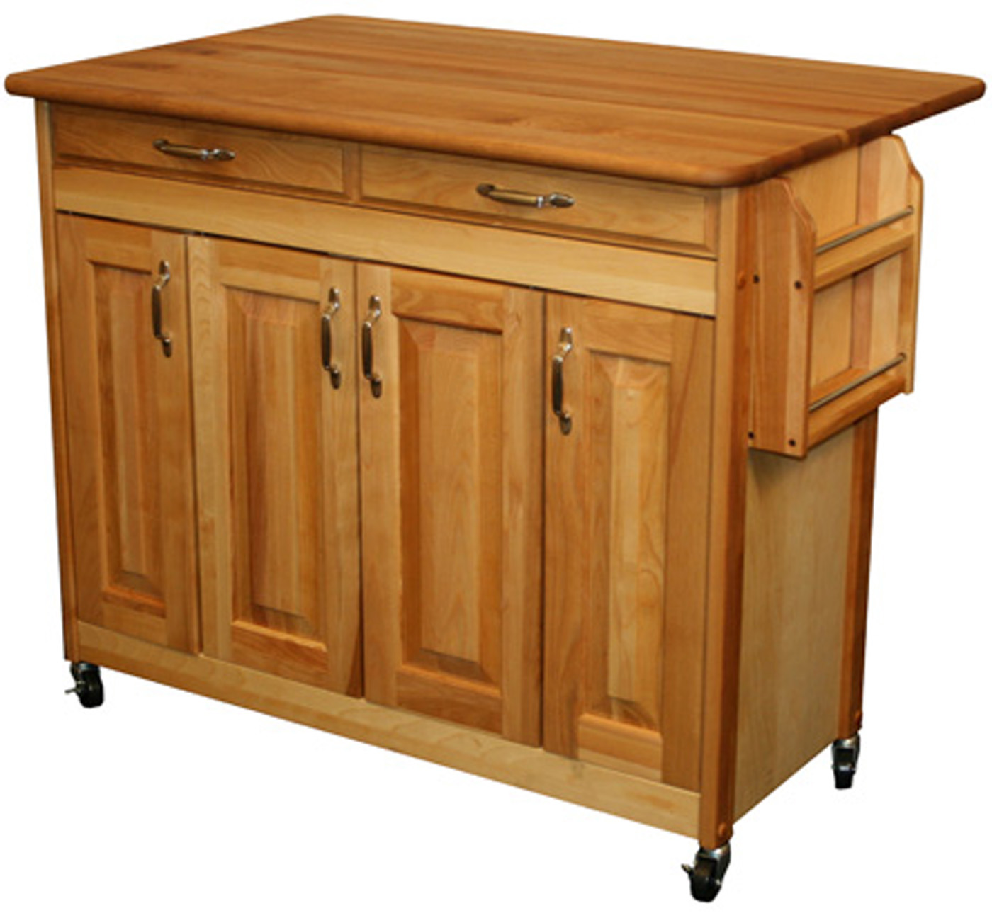 Butcher Block Kitchen Carts And Islands : Butcher Block Island in Kitchen Island Carts