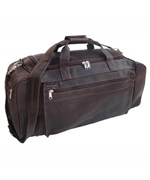 24 Inch Cowhide Leather Duffle Bag