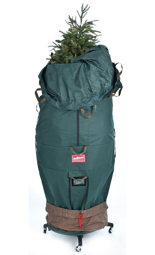 Upright Artificial Tree Bag In Christmas Tree Storage