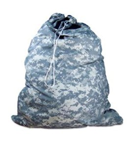 Large Laundry Bag - Camouflage Image