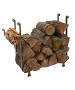 Large Rectangle Wood Rack