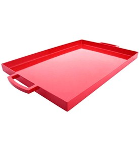 Large Serving Tray - Red Image