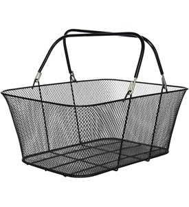Large Shopping Basket - Black Image