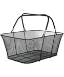 Large Shopping Basket - Black