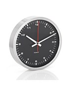 Large Stainless Contrasting Wall Clock by Blomus