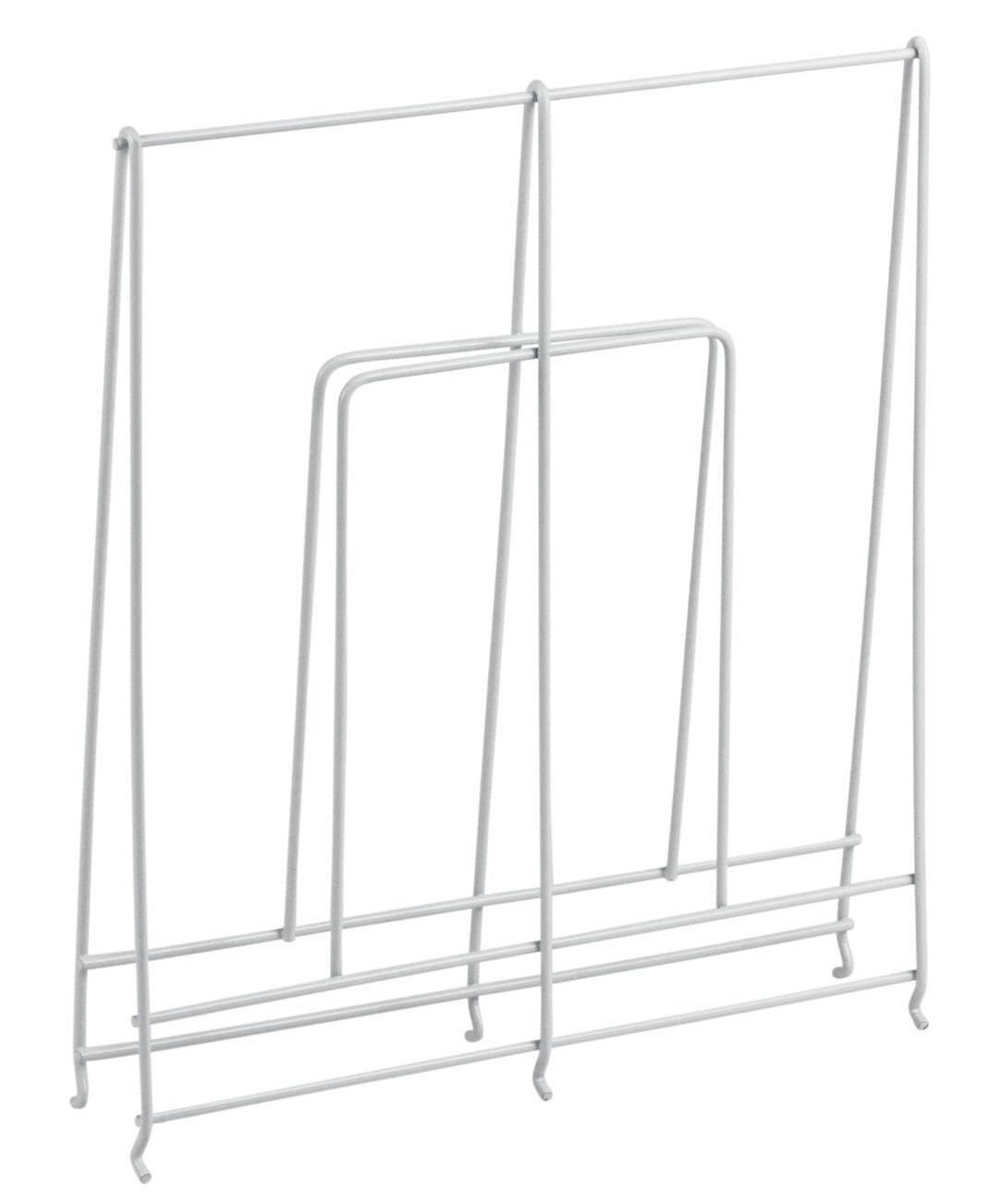 Large White Wire Shelf Divider ...