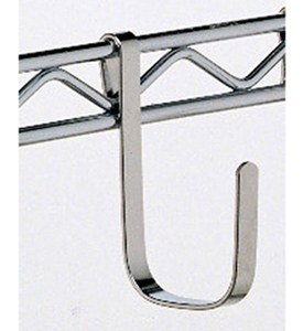 Large Chrome Intermetro Hook (Set of 4) Image