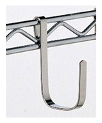 Large Chrome Intermetro Hook