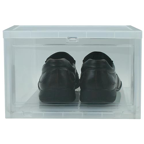 Large Drop-Front Shoe Box Image