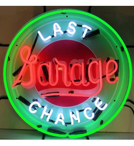 Last Chance Garage Neon Sign by Neonetics Image