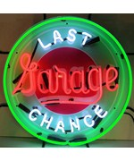 Last Chance Garage Neon Sign by Neonetics