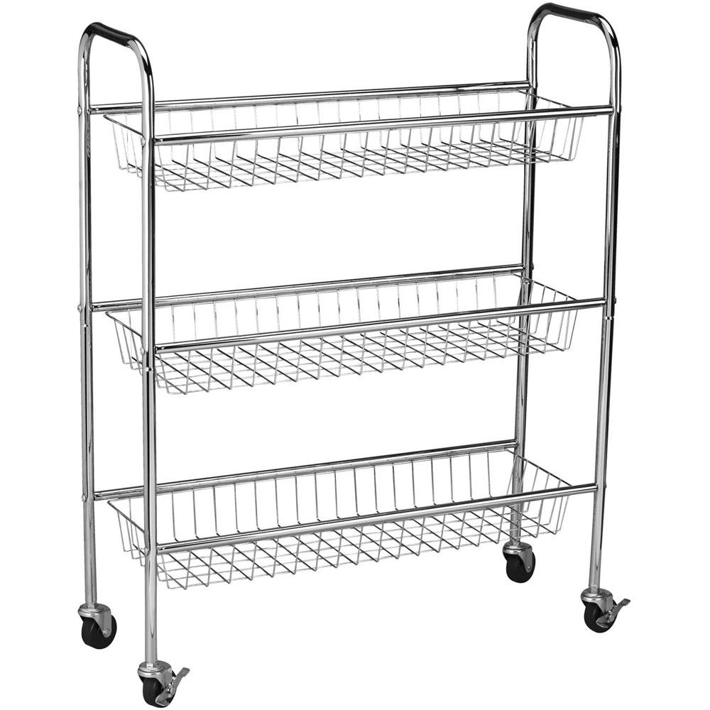 Laundry Cart   3 Tier Price: $47.99