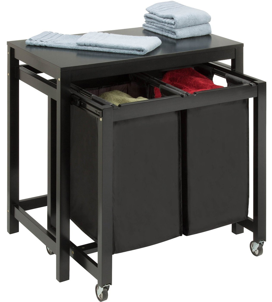 Charmant Laundry Folding Table   Double Sorter Image