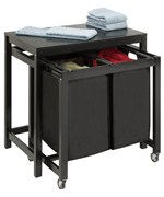 Laundry Folding Table - Double Sorter