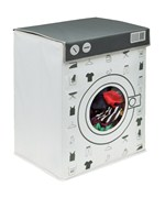 Laundry Hamper with Lid - Washing Machine